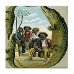 Alligator Hunters Tile Coaster