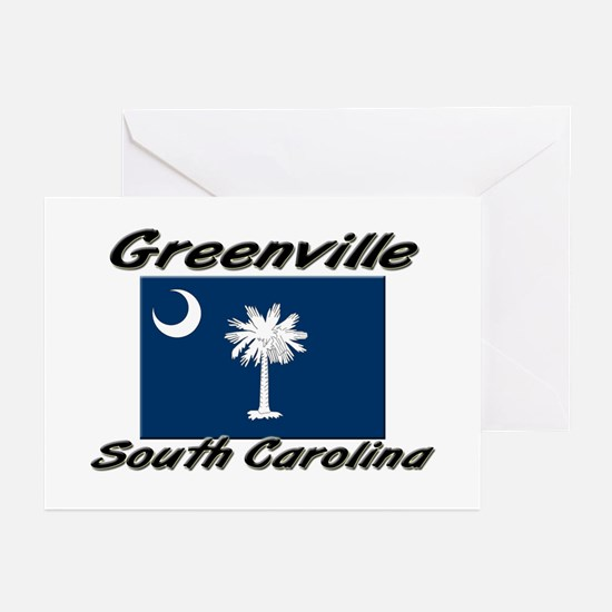 Greenville South Carolina Greeting Cards (Package