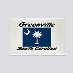 Greenville South Carolina Rectangle Magnet