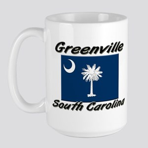Greenville South Carolina Large Mug