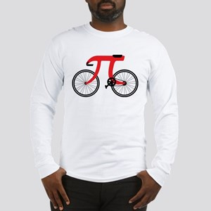 bicycle shaped pI Long Sleeve T-Shirt