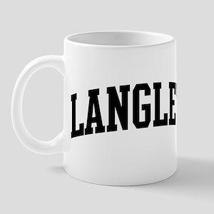 LANGLEY (curve-black) Mug