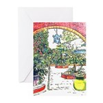 French Quarter Patio Cards (Pk of 10)