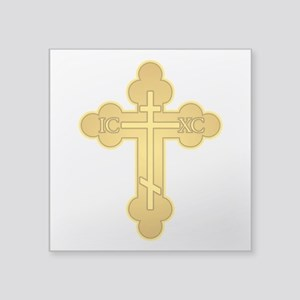 Orthodox Cross Sticker