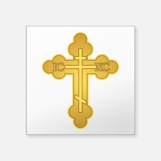 Orthodox Cross Sticker