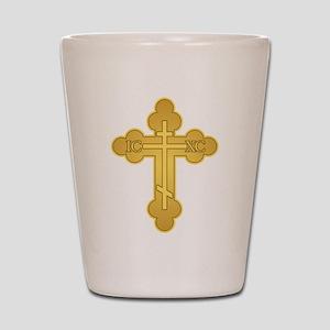 Orthodox Cross Shot Glass