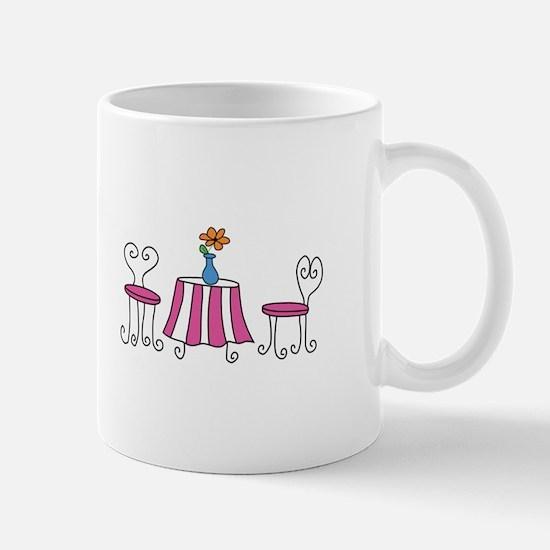 SIDEWALK CAFE Mugs