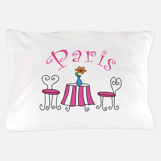 Paris Pillow Case