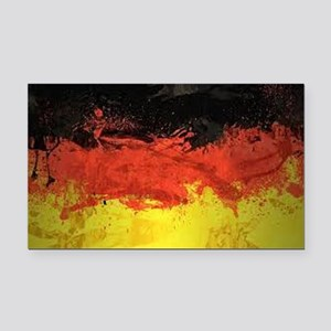 Artsy German Flag Rectangle Car Magnet