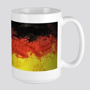 Artsy German Flag Large Mug