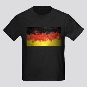 Artsy German Flag Kids Dark T-Shirt