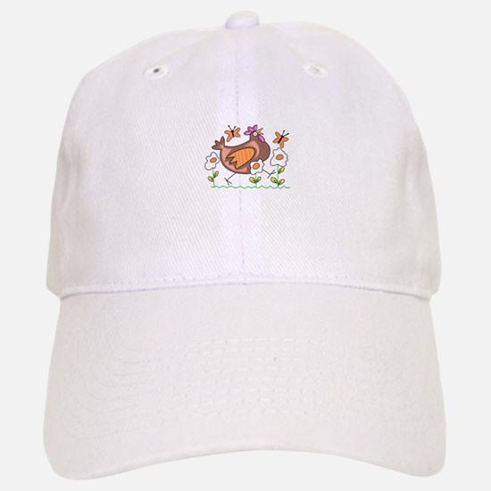 EGG FLOWERS & CHICKEN Baseball Baseball Baseball Cap