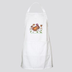 EGG FLOWERS & CHICKEN Apron