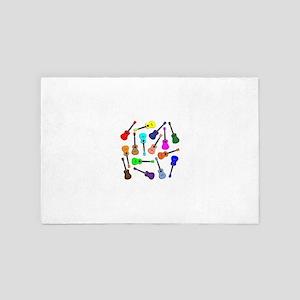 Musical Rainbow 4' x 6' Rug