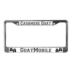 Cashmere Goat License Plate Frame