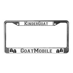 KinderGoat License Plate Frame