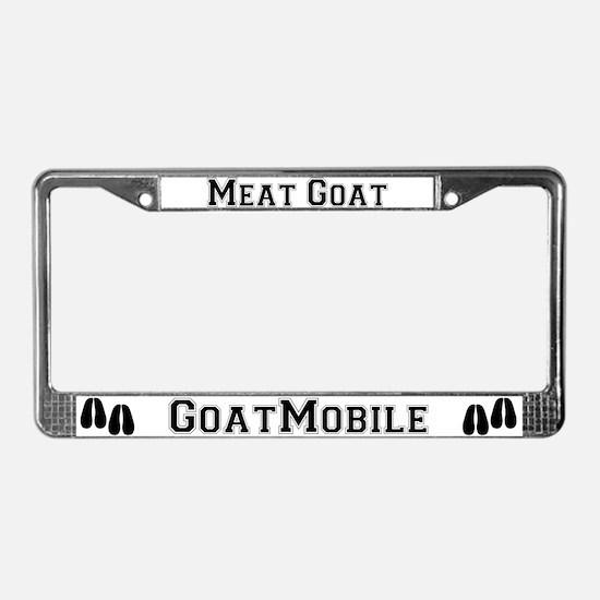 Meat Goat License Plate Frame