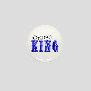 Drama King Mini Button