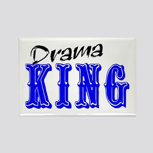 Drama King Rectangle Magnet