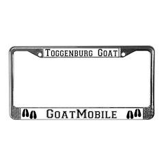 Toggenburg Goat License Plate Frame