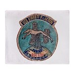 USS EVERETT F. LARSON Throw Blanket