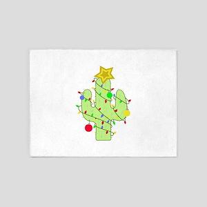 CHRISTMAS CACTUS 5'x7'Area Rug