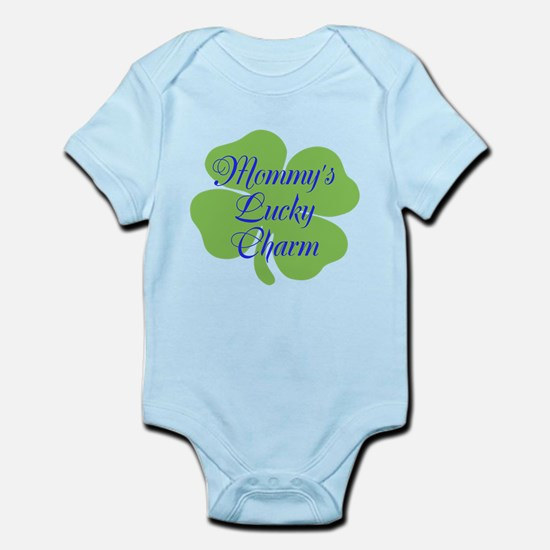Blue Mommy's Lucky Charm Infant Bodysuit