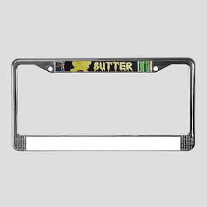 deep fried butter photo License Plate Frame