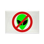 No More Aliens Rectangle Magnet (100 pack)