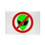 No More Aliens Rectangle Magnet (10 pack)
