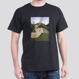 great wall of china art drawing T-Shirt