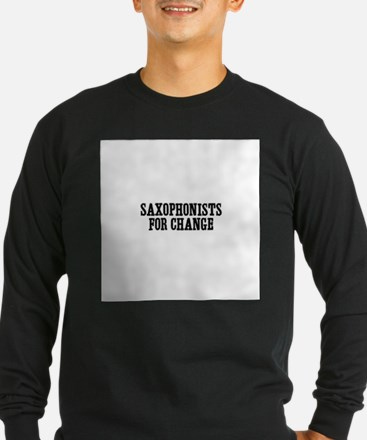 saxophonists for change T