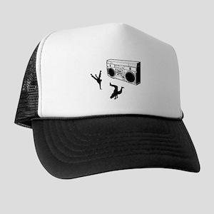 B-boy Break Dance Street Artist Black Trucker Hat