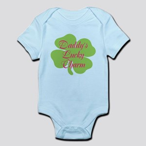 Pink Daddy's Lucky Charm Infant Bodysuit