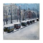 Canal St. Snow Tile Coaster