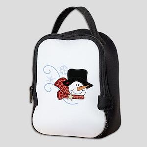 WINTER IS HERE Neoprene Lunch Bag