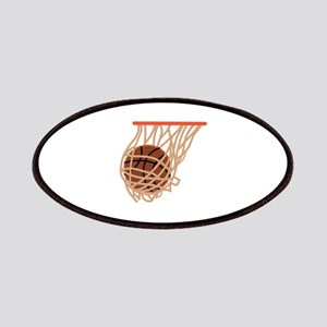 BASKETBALL IN NET Patches