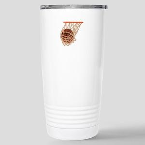BASKETBALL IN NET Travel Mug
