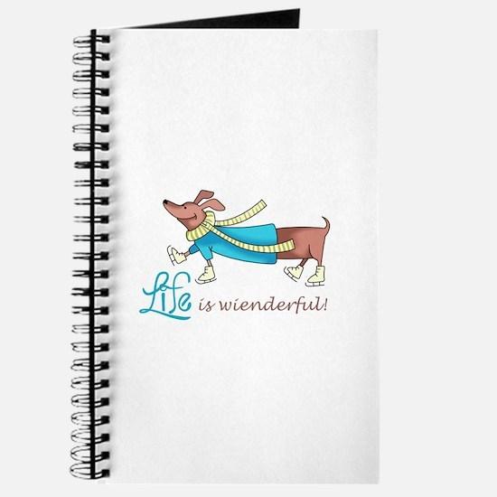 LIFE IS WIENDERFUL Journal