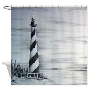 Cape Hatteras Lighthouse Shower Curtains