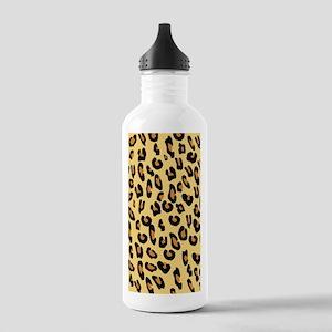 Leopard Skin Stainless Water Bottle 1.0L