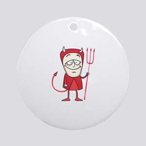 LITTLE DEVIL Ornament (Round)