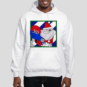Rocky-Claus Hooded Sweatshirt