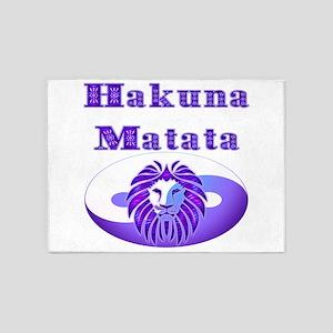 Hakuna Matata 5'x7'Area Rug