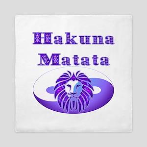 Hakuna Matata Queen Duvet