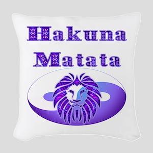 Hakuna Matata Woven Throw Pillow