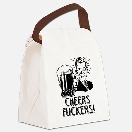 Cheers Fuckers Irish Drinking Hum Canvas Lunch Bag