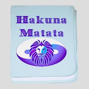 Hakuna Matata baby blanket