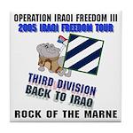 OIF3 Freedom Tour 2 - Tile Coaster
