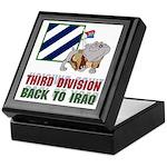 3ID Back To Iraq - Keepsake Box